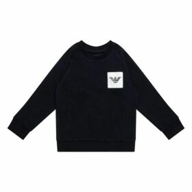 Emporio Armani Logo Patch Sweatshirt