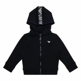Emporio Armani Zip Up Top Navy 4yr - 14yr