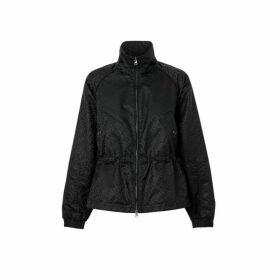 Burberry Monogram Econyl Jacquard Funnel Neck Jacket
