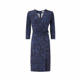 Jigsaw Woodland Floral Jersey Dress