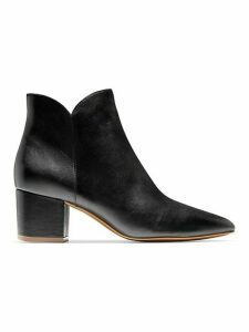 Elyse Leather Booties
