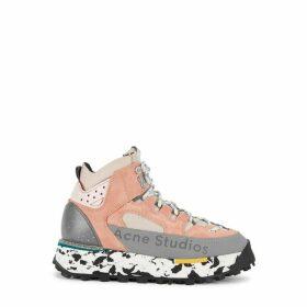 Acne Studios Bertrand 50 Panelled Suede Sneakers
