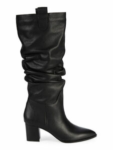 Julia Leather Slouch Tall Boots