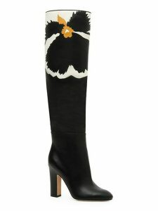 Bloom Knee-High Leather Boots