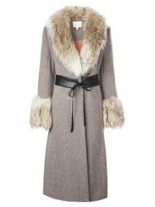 Cinq A Sept Irina coat - Brown