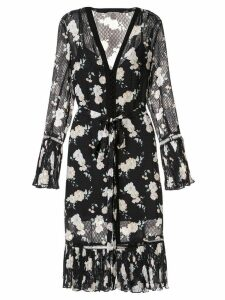 We Are Kindred Mia floral midi dress - Black