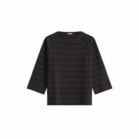 Jigsaw Soft Check Sweatshirt