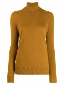Gentry Portofino roll neck jumper - Yellow
