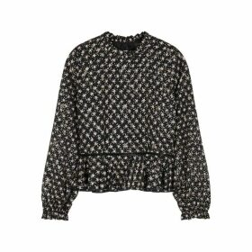 Stine Goya Shirley Star-print Blouse