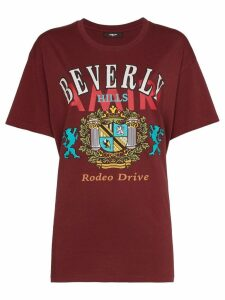 AMIRI Beverly Hills print T-shirt - Red