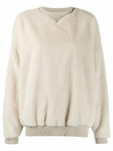 Katharine Hamnett London oversized sweater - NEUTRALS