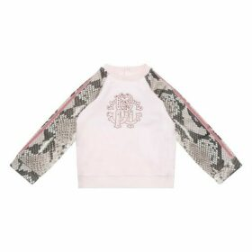 Roberto Cavalli Snakeskin Print Sweatshirt