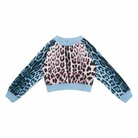 Roberto Cavalli Animal Print Sweatshirt