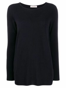 Gentry Portofino scoop neck jumper - Blue