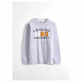 Hackett H83 Detail Cotton Long-sleeved T-shirt