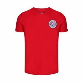 Alpha Industries Apollo 15 T-shirt Speed Red
