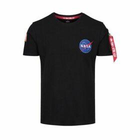 Alpha Industries Nasa Heavy T-shirt Black