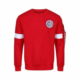Alpha Industries Apollo 15 Sweater Speed Red