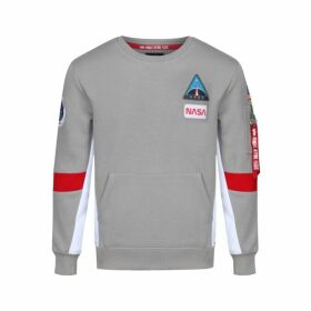 Alpha Industries Space Camp Sweater Silver