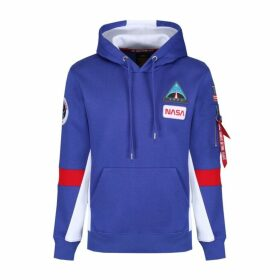 Alpha Industries Space Camp Hoody Nautical Blue