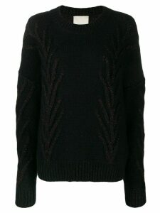 Marco De Vincenzo glitter detail sweater - Black