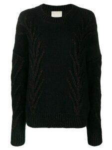 Marco De Vincenzo glitter detail sweater - Black