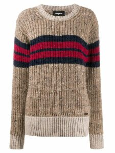 Dsquared2 knitted jumper - NEUTRALS