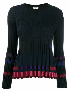 Kenzo ridged knitted top - Black