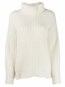 Iris Von Arnim turtleneck jumper - White