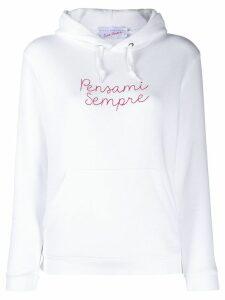 Giada Benincasa Pensami Sempre hoodie - White