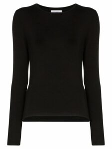 Ninety Percent long-sleeve jersey T-shirt - Black