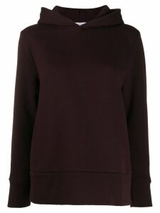 Roseanna embroidered logo hoodie - Brown