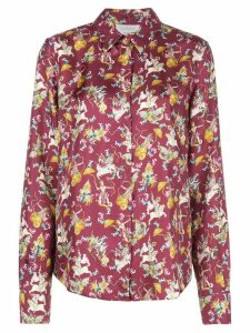 Gabriela Hearst Mythical print shirt - Red