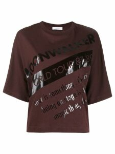 Roseanna printed T-shirt - Brown