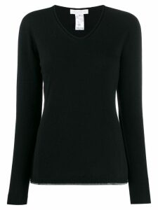 Fabiana Filippi slim-fit jumper - Black