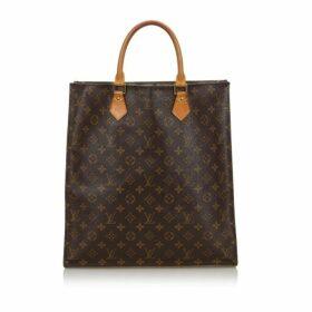 Louis Vuitton Brown Monogram Sac Plat