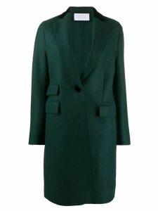 Harris Wharf London triple pocket wool coat - Green