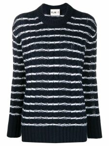 Plan C striped sweater - Blue
