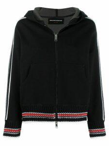 Ermanno Scervino hooded active jacket - Black