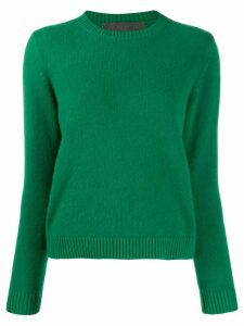 The Elder Statesman round neck jumper - Green