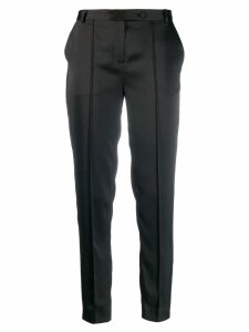 Styland slim fit trousers - Black