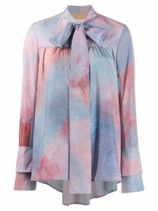 Ssheena tie-dye blouse - Blue
