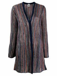 M Missoni metallic striped cardigan - Blue