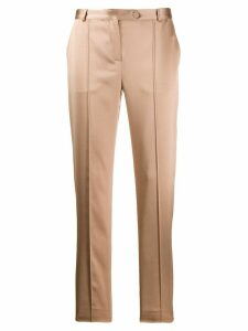 Styland straight leg trousers - NEUTRALS