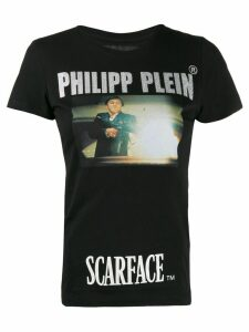 Philipp Plein Scarface print T-shirt - Black