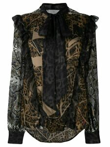 Preen By Thornton Bregazzi Blakely blouse - Brown