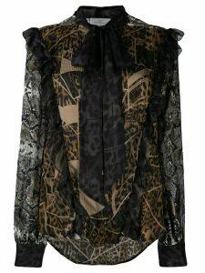 Preen By Thornton Bregazzi Blakely blouse - Brown