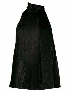 M Missoni halter neck tank top - Black
