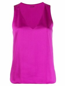 Styland v-neck tank top - PURPLE