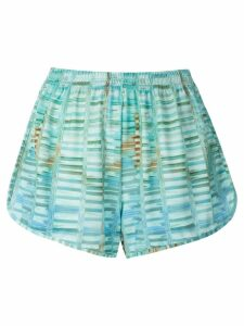 Lygia & Nanny Lee printed shorts - Blue